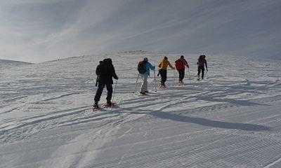 Raquetas en la Tosa de Alp