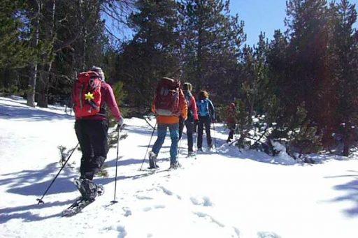 Raquetas de Nieve en Las Bullosas