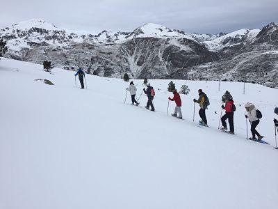 Raquetas de nieve en la Cerdanya