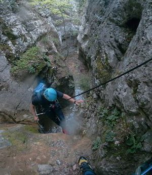 canyoning spain